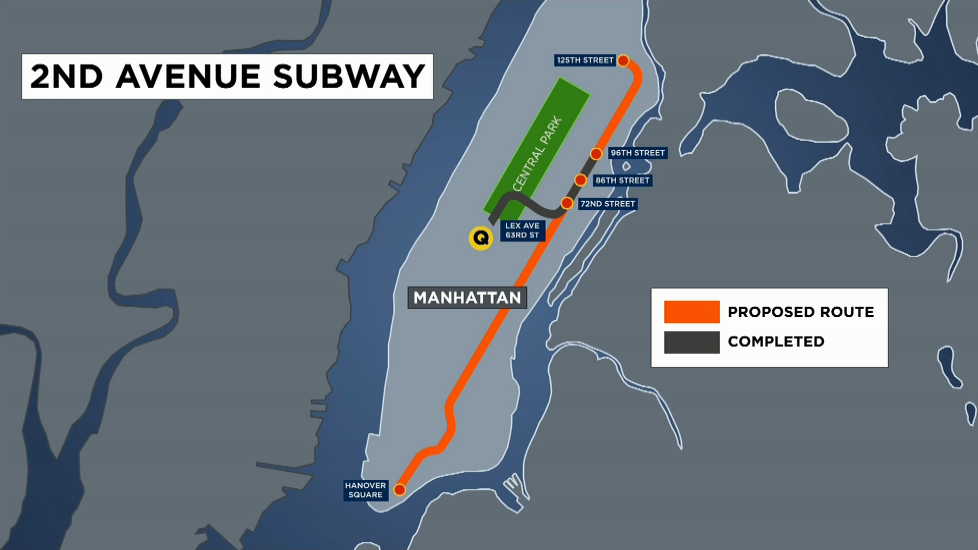 New Second Ave Subway Map.Mta Hoping To Cut Costs To Move Second Avenue Subway Forward