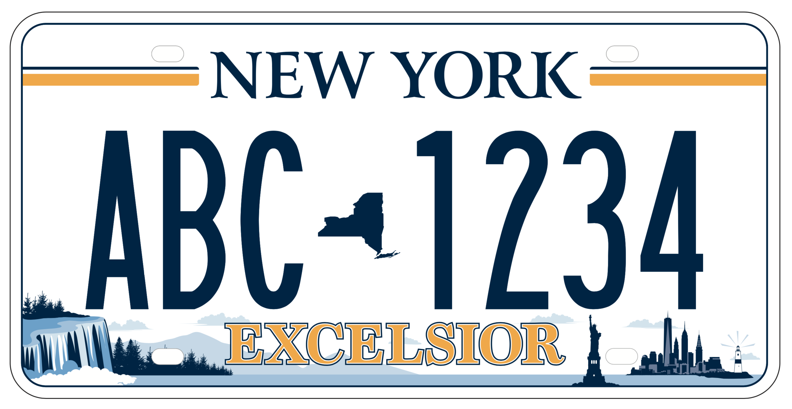 Ny Wants Residents To Choose Their New License Plate Design License plate — ☆ license plate n. new license plate design
