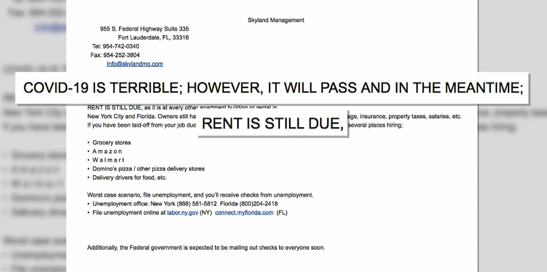 Rent Letter From Landlord from www.ny1.com